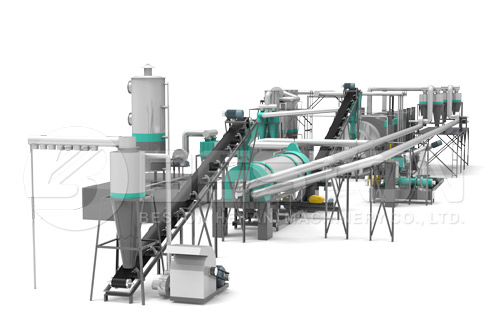 Carbonizing Machine